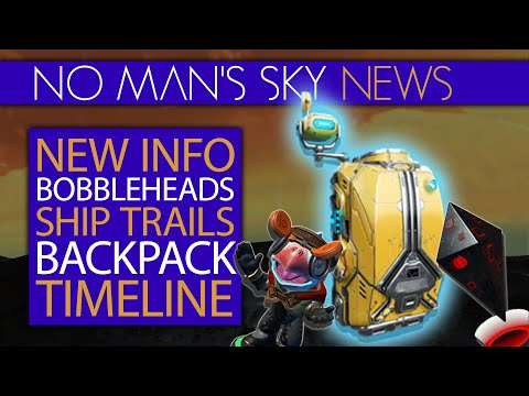 New Info! Quicksilver Shop Timeline   Bobbleheads, Starship Trails, Backpack   No Man's Sky Xaine