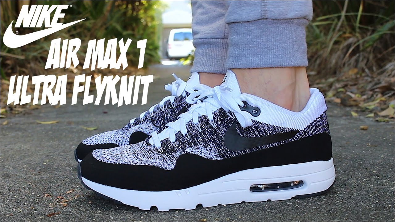 new products 52cd6 f92bc The most comfortable sneaker ever?? Nike Air Max One Ultra Flyknit |  Sneaker Review On Foot