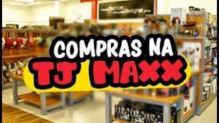 Repeat youtube video Compras na TJ MAXX