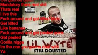 Gun Down (Lyrics)- Lil Wyte Ft. Frayser Boy & Partee