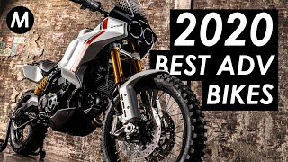 13 Best New Adventure & Touring Motorcycles For 2020