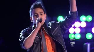 "Jorge Cruz canta ""Dile al Amor"" en La Voz Kids"
