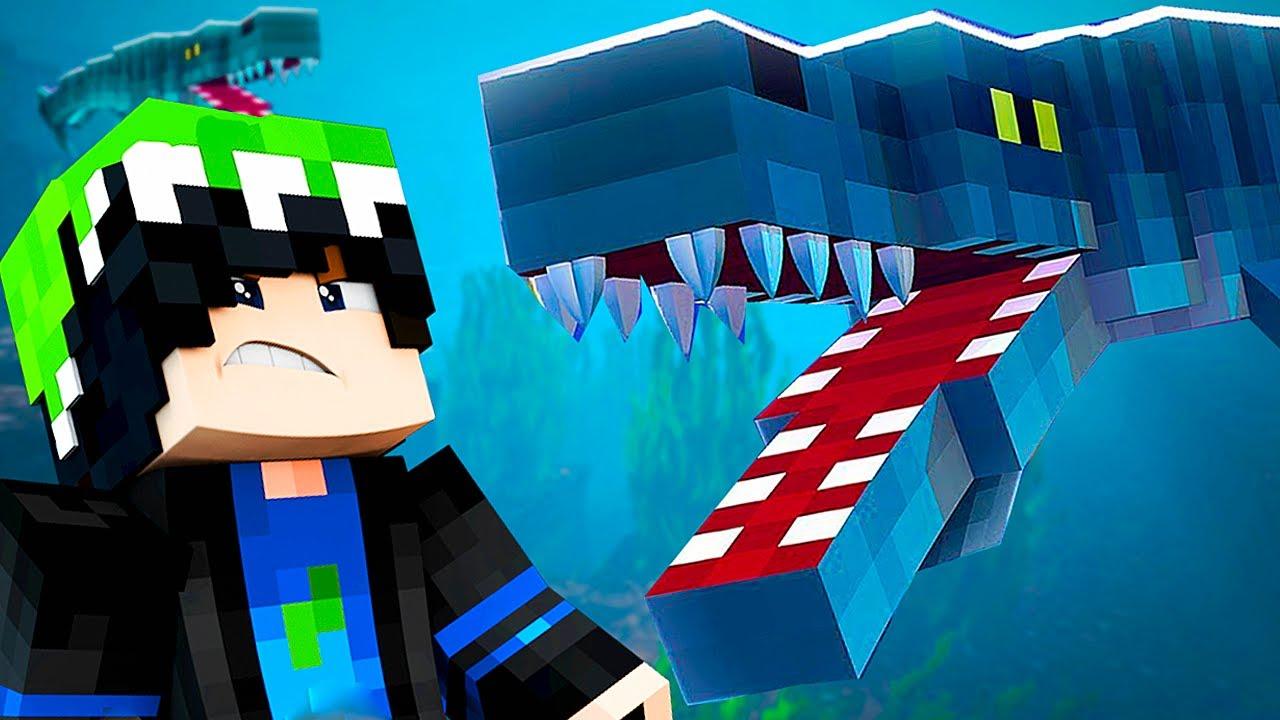 Download Minecraft Dinossauro (#04)   Viagem Até o Deserto! Oceano dos Tilossauros   (PT/BR)