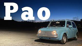 1989 Nissan Pao: Regular Car Reviews