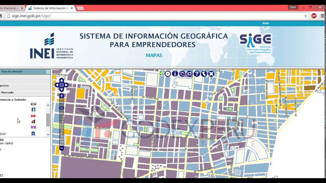 Gisvo sistema de informacion geografica para