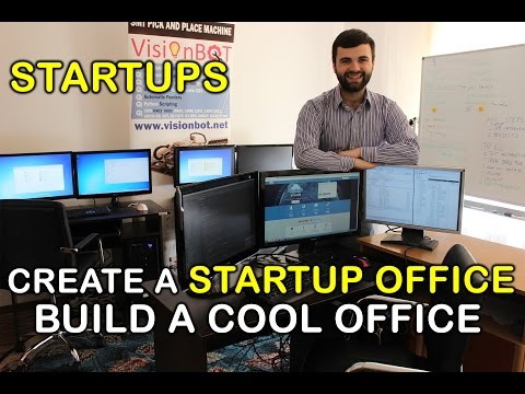 How to Create a Startup Office - DIY and Build It