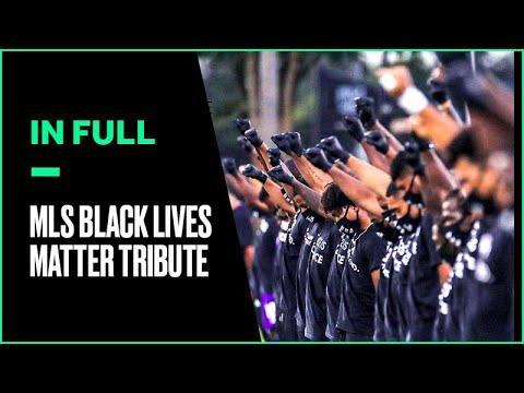 MLS Players' Powerful Black Lives Matter Demonstration