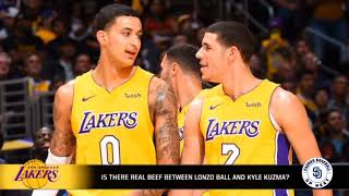 Is the beef between Lonzo Ball and Kyle Kuzma real?