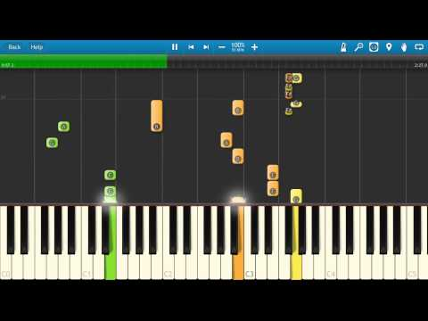 Alicia Keys  Fallin Piano Tutorial  How to play  Synthesia