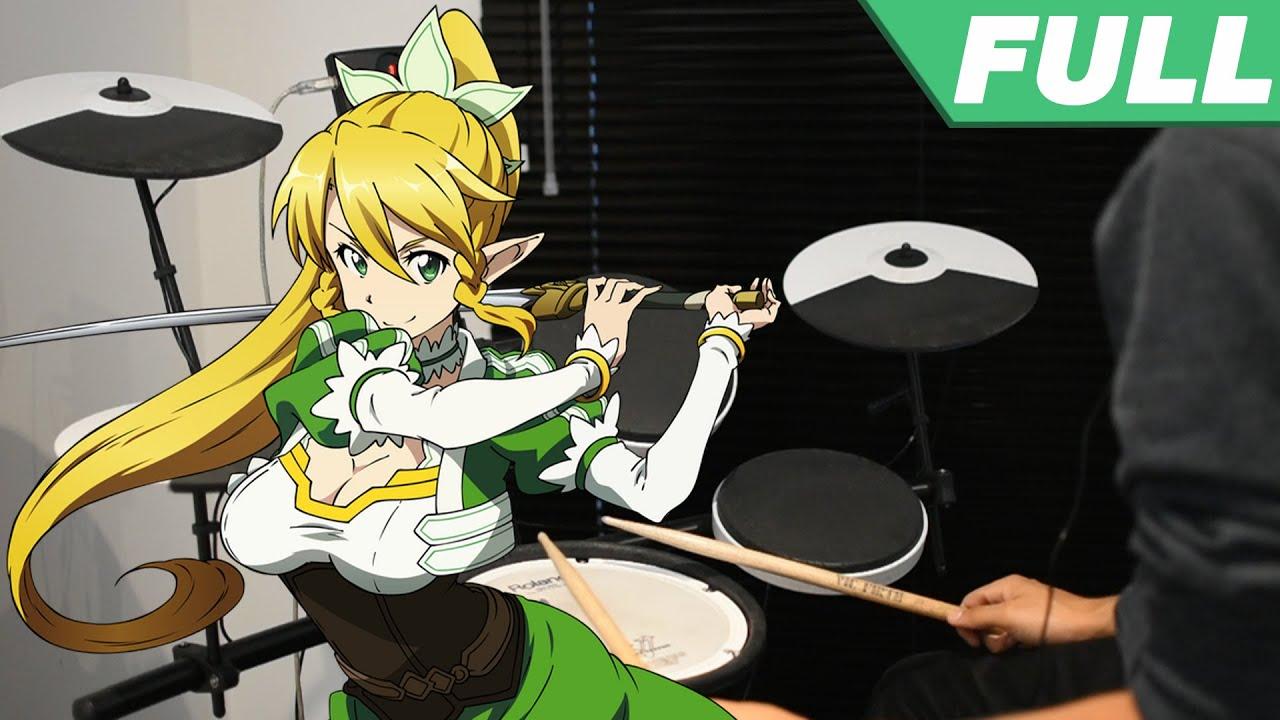 Sword Art Online OP 2 Full -【INNOCENCE】by Aoi Eir - Drum Cover