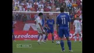Sergio Ramos Goal against Real Madrid 20042005