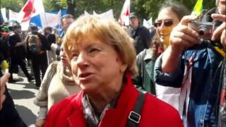 Марш против реновации 28 мая 2017. Вячеслав Мальцев.