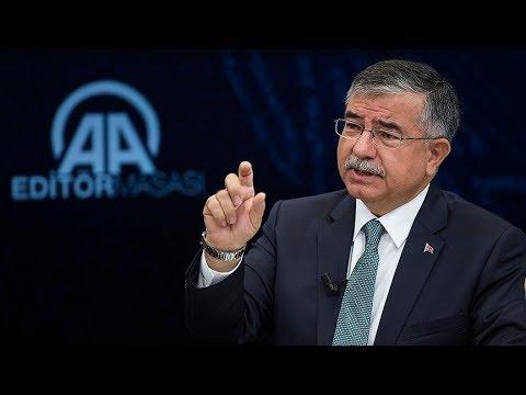Milli Eğitim Bakanı İsmet Yılmaz, Anadolu Ajansı (AA) Editör Masası'nda soruları yanıtlıyor.