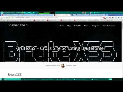 tool bruteforce on xss by w0lgix - YouTube