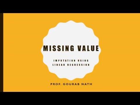 Missing Value  - Imputation Using Simple Linear Regression
