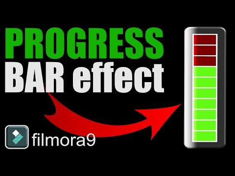 How To Make Progress Bar In Filmora