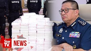 Drugs worth RM676mil seized in Malaysia's biggest haul
