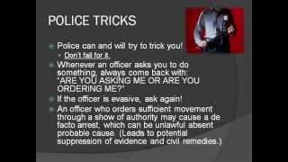Your Rights During Police Encounters In Public (Slight Florida Focus)