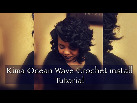 How To: Crochet Braids Using Kima Ocean Wave Hair