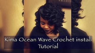 How To: Crochet Braids Using Kima Ocean Wave Hair
