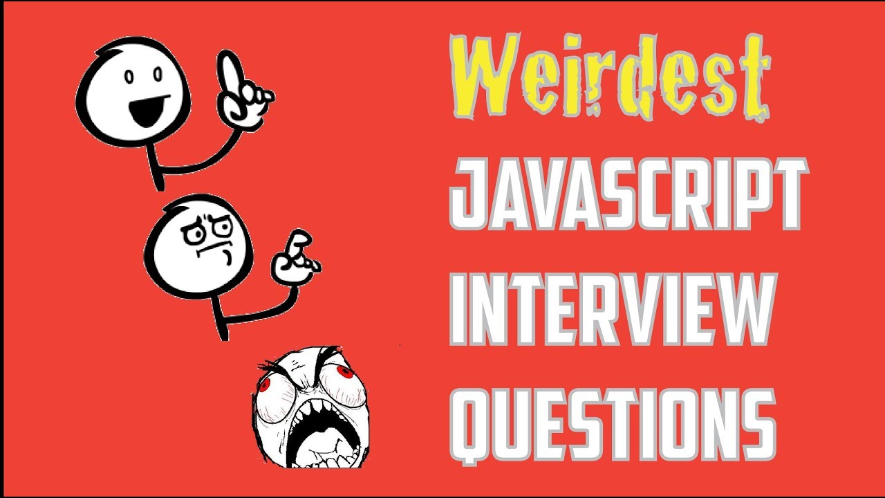 Tricky Javascript Interview Questions And Answers Youtube