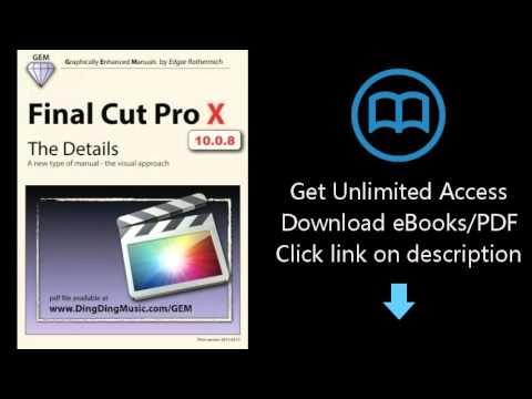 final cut pro x manual pdf