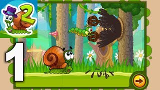 Snail Bob 2 ( Улитка БОБ 2 ) - Forest Story Gameplay Walkthrough Part 1 Levels 1 - 25 (iOS, Android)