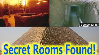 Two Mysterious Rooms Found Inside Egypt's Great Pyramid of Giza