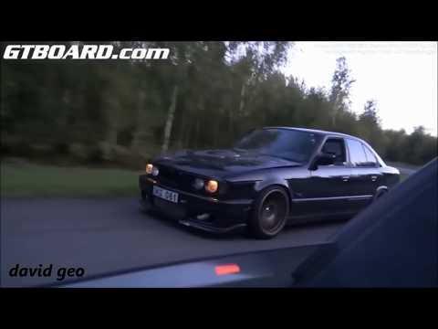 Bugatti Veyron Dutchbugs Vs BMW M5 E34 Monster Turbo 900 RWHP