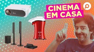 Imagem do prévia do vídeo: Como montar uma SALA DE CINEMA em CASA l Melhores TVs, PROJETORES e mais!