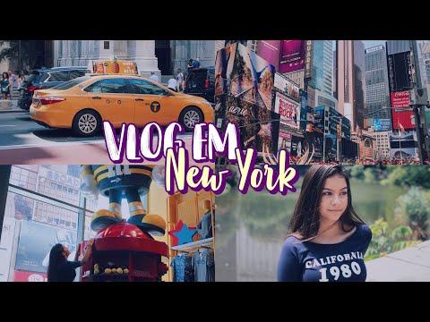 VLOG EM NYC - ep3  Nathália Jackeline