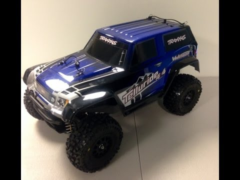 Traxxas Telluride... Upgrades and Hop ups... VXL Brushless