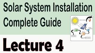 best location for installation of solar plates | Solar System Installation Guide in Urdu/Hindi 4