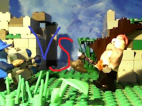Lego League of Legends: Sion vs Veigar - YouTube