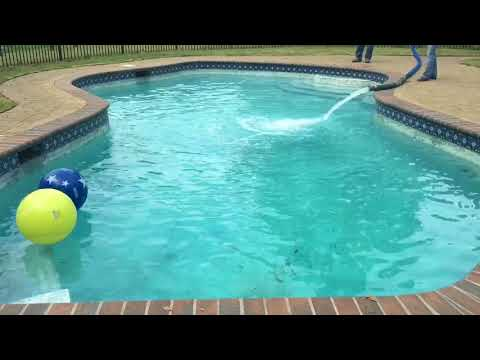 HOW TO FILL UP A POOL TIME LAPSE