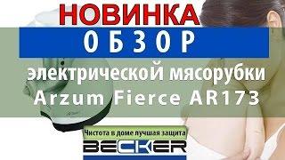 Обзор электрической мясорубки Arzum Fierce AR173