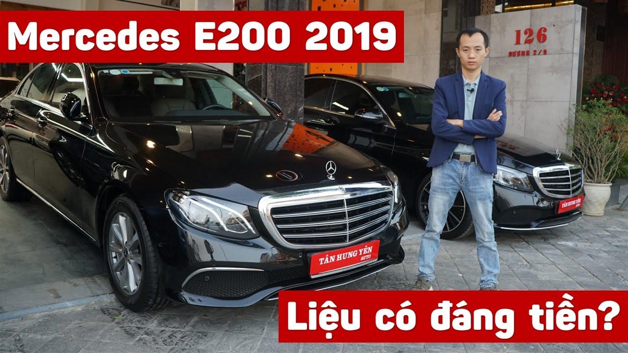 Đánh giá xe cũ Mercedes E200 2019 tại Showroom Tân Hưng Yên Auto Đà Nẵng | Balocar
