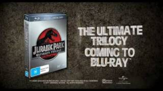 Jurassic Park Trilogy HD Trailer - Available 26 October 2011 in Australia and New Zealand