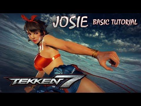 Tekken 7 - Josie complete tutorial