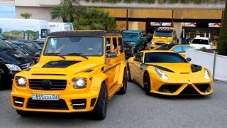 Mansory Gang! AMG 6X6, Aventador, Ferrari F12.. Sound