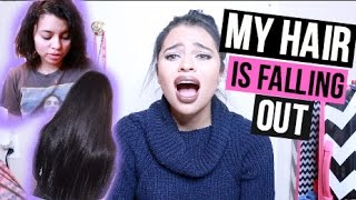 STORYTIME: MY HAIRS FALLING OUT ! BAD EXTENSIONS EXPERIENCE