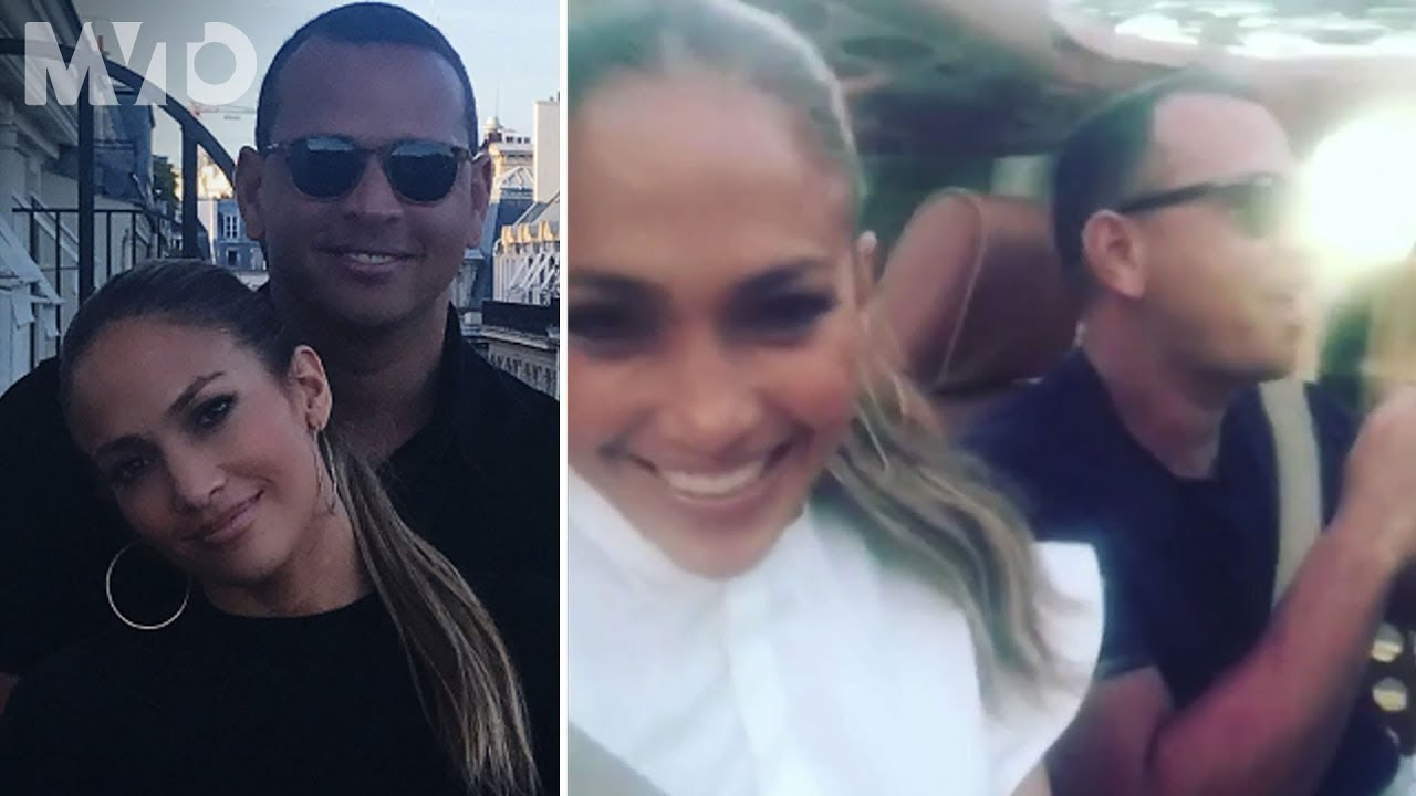 Alex Rodriguez danced along with fans on the field during fiance ...