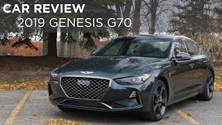 Car Review | 2019 Genesis G70 | Driving.ca