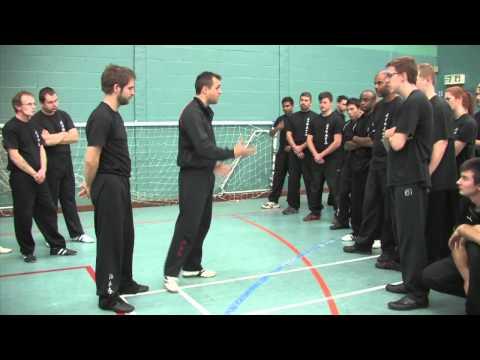 Nick Martin Sifu Introduces Basic Kick Skills