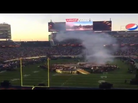 Super bowl 50 best timelaps moments halftime