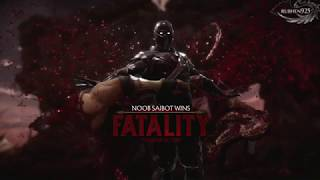 MORTAL KOMBAT 11 Noob Saibot Fatal Blow & Fatalities Showcase (MK11 Noob Saibot)