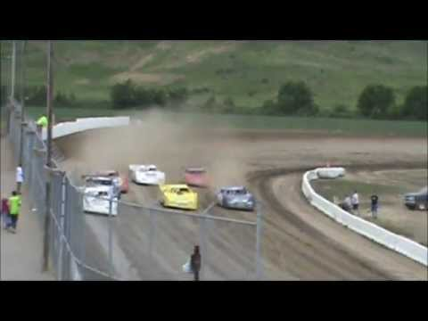 ADRA Late Model Dash & Heats Muskingum County Speedway  07-13-2012