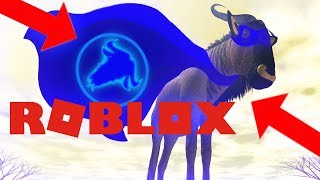 Un G'NEW HERO!! LE GNU BLUE!! - ROBLOX WILD SAVANNAH ( Survival Roleplay Let's Play with Gameplay)