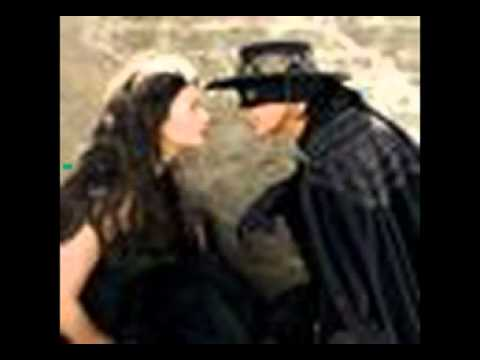 Musique film - Le masque de zorro 1998 ( Antonio Bande & Catherine Zeta- Jones ).