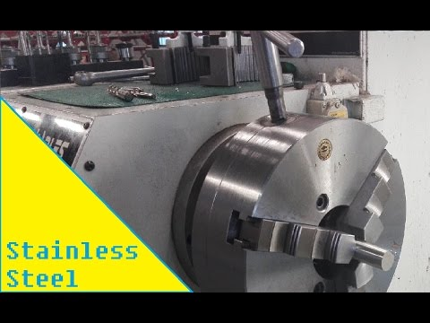 Turning stainless steel rods